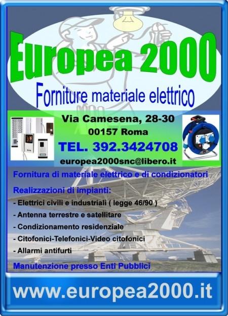 locandina EUROPEA 2000