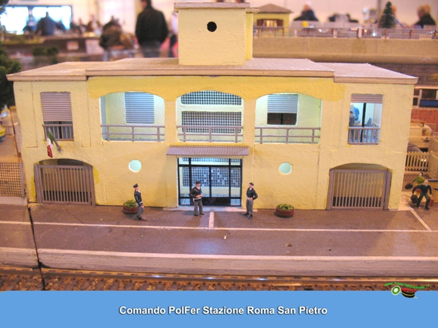 comando PolFer  Stazione Roma San Pietro