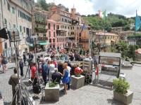 Panoramica piazza di Nemi