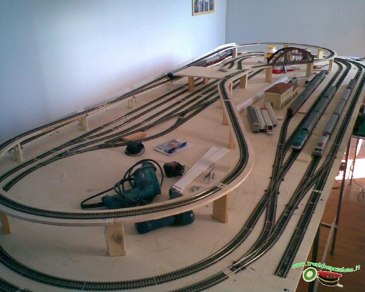 Schemi Elettrici Per Modellismo Ferroviario : Plastico ferroviario ho lima finalmente finitoooo youtube